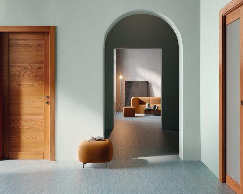 Porta in legno Spenia di Garofoli 1PA SITE 1V_Post0002 rovere tek