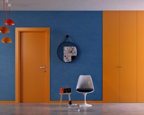 Porta_Laccata_Garofoli_1000colours_arancio_Berneschi_Arezzo