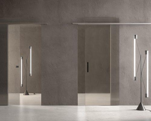 Porte in vetro Garofoli sistemi scorrevoli_batik_Berneschi_Arezzo