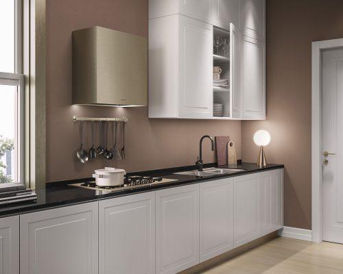 Cucina classica_PART ANTE APERTE