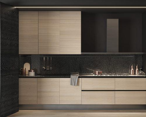Cucina parete fisarmonica_PART 1