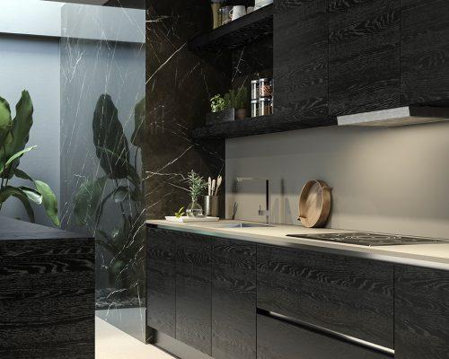 Cucina parete orientabile_PART VERTICALE