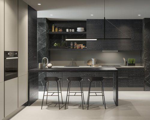 Cucina parete orientabile_PART orizzontale interno