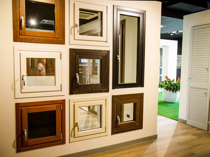 Finestre ie porte finestre in legno BG Legno Berneschi infissi Arezzo