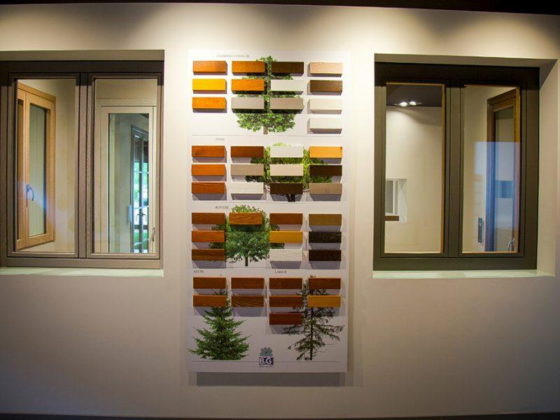 Finestre in legno BG Legno Berneschi infissi Arezzo