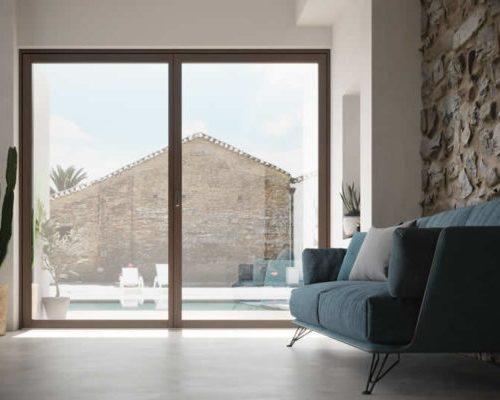 Portafinestra--ghost-plus-finestre-legno-Berneschi-Infissi Arezzo