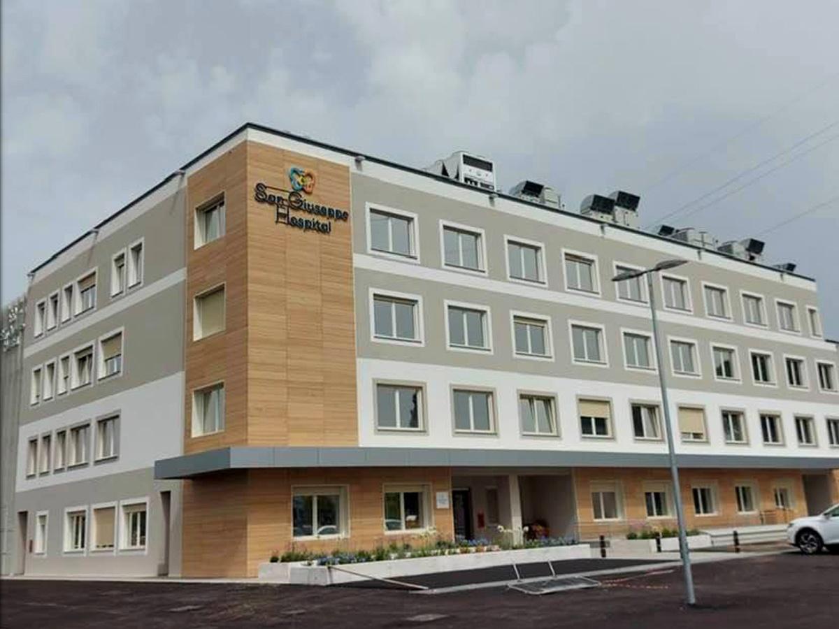 Porte e finestre ospedale San Giuseppe Arezzo