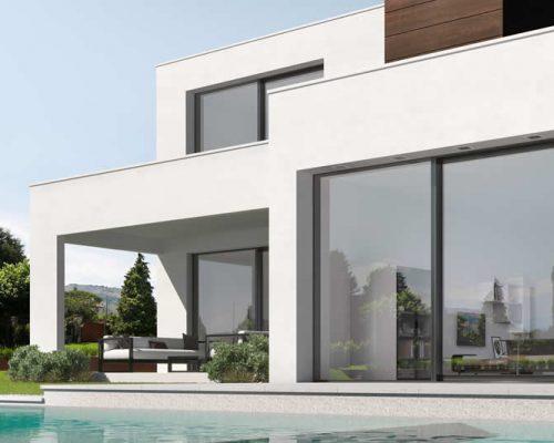 Portefinestre-minimal-alzanti-scorrevoli-legno-alluminio-Berneschi-Infissi-Arezzo