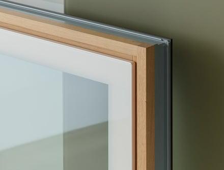 Finestre in legno-alluminio Finstral Arezzo Berneschi