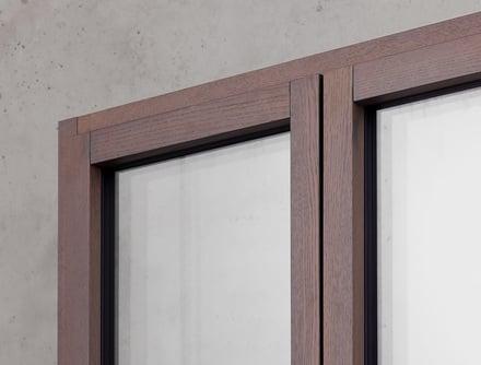 Finestre in legno-alluminio Finstral Arezzo Sistema Berneschi