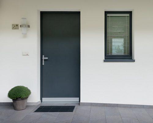 Porta d'ingresso della linea Style Berneschi infissi arezzo