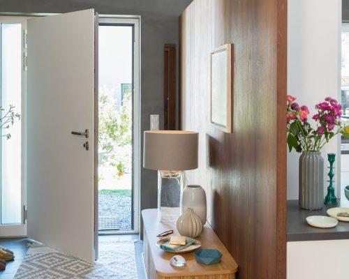 Porta d'ingresso in alluminio-PVC serie Style Berneschi Infissi Arezzo