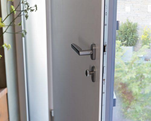 Porta d'ingresso in alluminio-PVC serie Style infissi Arezzo