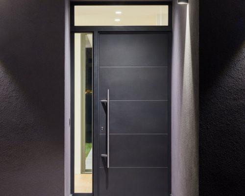 Porta d'ingresso minimalista linea Style Arezzo Infissi
