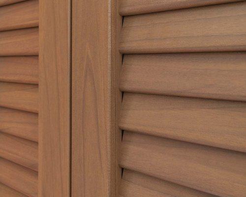 Persiana Eurall finitura legno UNA SYSTEM Arezzo infissi