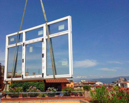Salita ai piani Sistema Berneschi infissi di Arezzo