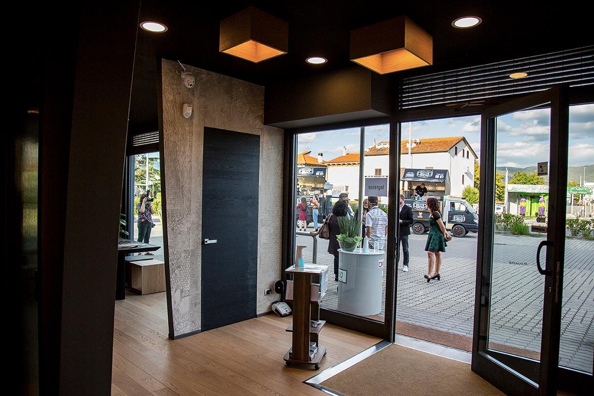 Inaugurazione Garofoli Store e BG Legno Factory Store a Case Nuove di Ceciliano Arezzo
