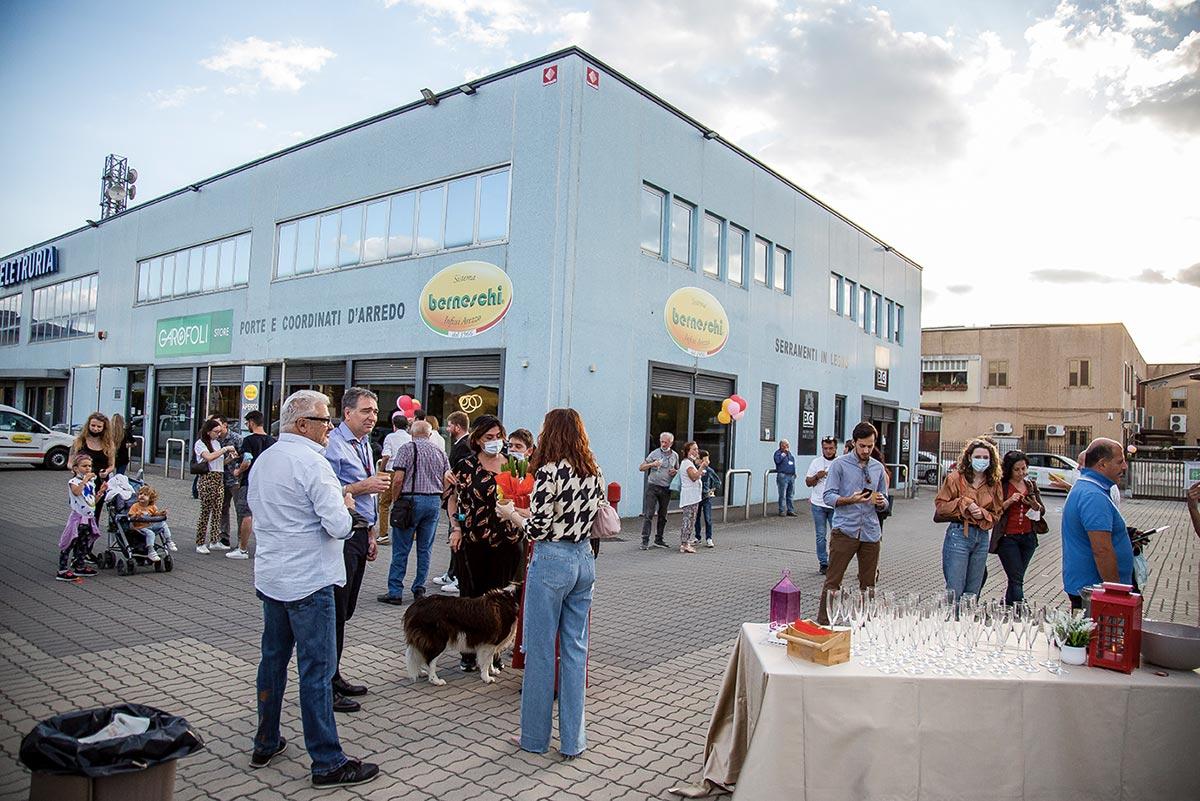 Inaugurazione Berneschi Garofoli Store e BG Legno Factory Store Case Nuove di Ceciliano ad Arezzo